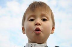 Surprised boy Royalty Free Stock Photos