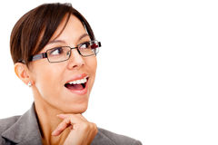Surprised business woman Royalty Free Stock Photo