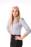Surprised Business Woman Royalty Free Stock Photos