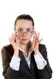 Surprised Business Woman Stock Photos