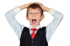 Surprised businessman Royalty Free Stock Photography