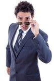 Surprised businessman Stock Image