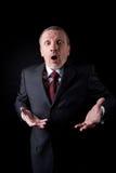 Surprised businessman Stock Images
