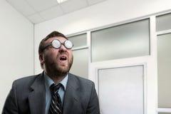 Surprised businessman Stock Photography