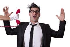 Surprised businessman Stock Photos