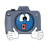 Surprised Camera cartoon Stock Photos