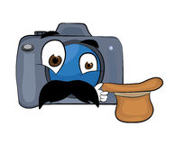 Surprised Camera cartoon Royalty Free Stock Photography