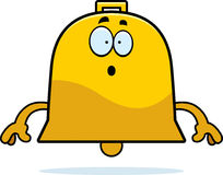 Surprised Cartoon Bell Royalty Free Stock Photos