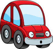 Surprised Cartoon Car Stock Photography