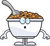Surprised Cartoon Cereal Stock Image