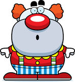 Surprised Cartoon Clown Royalty Free Stock Photography