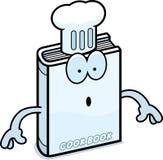 Surprised Cartoon Cookbook Stock Image