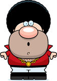 Surprised Cartoon Disco Guy Royalty Free Stock Images