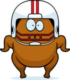 Surprised Cartoon Football Turkey Stock Photography