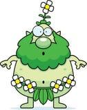 Surprised Cartoon Forest Sprite Stock Images