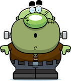 Surprised Cartoon Frankenstein Stock Photography