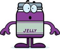 Surprised Cartoon Jelly Jar Stock Images