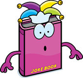 Surprised Cartoon Joke Book Stock Photo