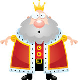 Surprised Cartoon King Stock Photos