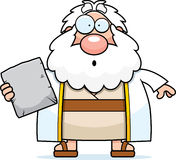 Surprised Cartoon Moses Stock Images