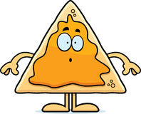 Surprised Cartoon Nachos Royalty Free Stock Images
