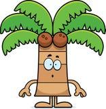 Surprised Cartoon Palm Tree Stock Photos