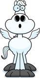 Surprised Cartoon Pegasus Stock Photo
