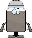 Surprised Cartoon Pepper Royalty Free Stock Photography