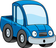 Surprised Cartoon Pickup Truck Royalty Free Stock Images
