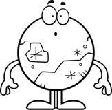 Surprised Cartoon Pluto Royalty Free Stock Photos