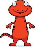 Surprised Cartoon Salamander Stock Photography