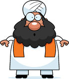 Surprised Cartoon Sikh Stock Photography