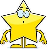 Surprised Cartoon Star Royalty Free Stock Photo