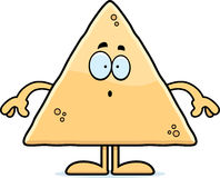 Surprised Cartoon Tortilla Chip Royalty Free Stock Image