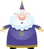 Surprised Cartoon Wizard Royalty Free Stock Photo