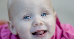 Surprised Child Stock Photo