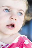 Surprised Child Royalty Free Stock Photography