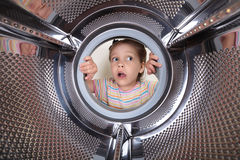 Surprised child Stock Photography