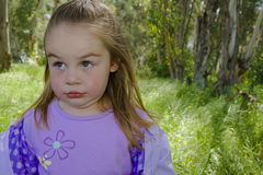 Surprised child Stock Images
