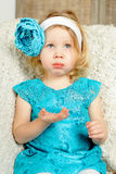 Surprised child girl Royalty Free Stock Photo