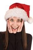 Surprised Christmas Stock Photo