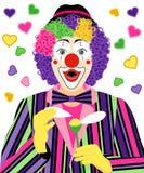 Surprised clown Royalty Free Stock Image
