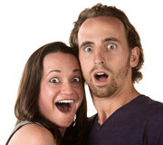 Surprised Couple Stock Photos