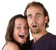Surprised Couple Stock Photos