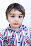 Surprised, and cute kiddo Royalty Free Stock Photography