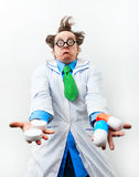 Surprised doctor Royalty Free Stock Photo