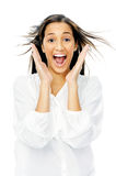 Surprised expression Royalty Free Stock Photo