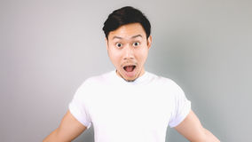 Surprised face and pose. Stock Photography