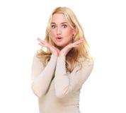 Surprised Facial Expression Stock Photos