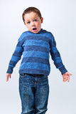 Surprised Funny Little Boy Royalty Free Stock Image
